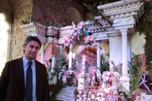 Presepe da guinness a Gangi, boom di visite nella Torre di Ventimiglia