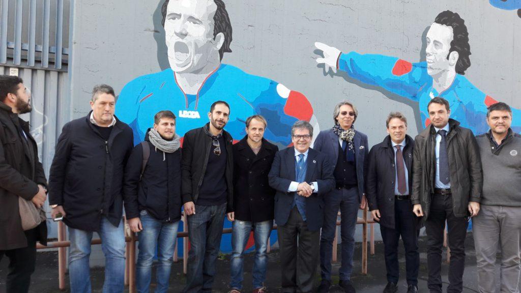Murales stadio Massimino