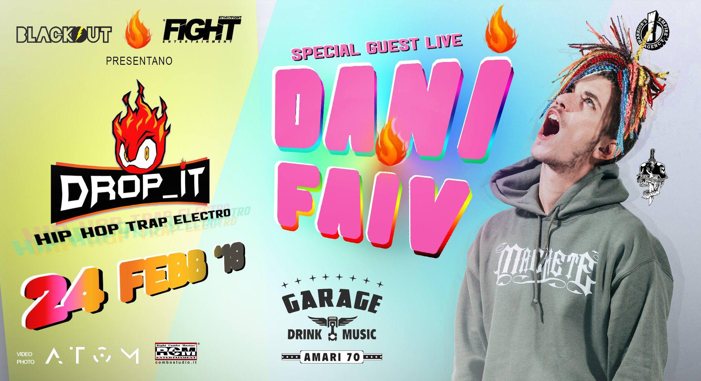 Dani Faiv Palermo evento Fight Entertainment