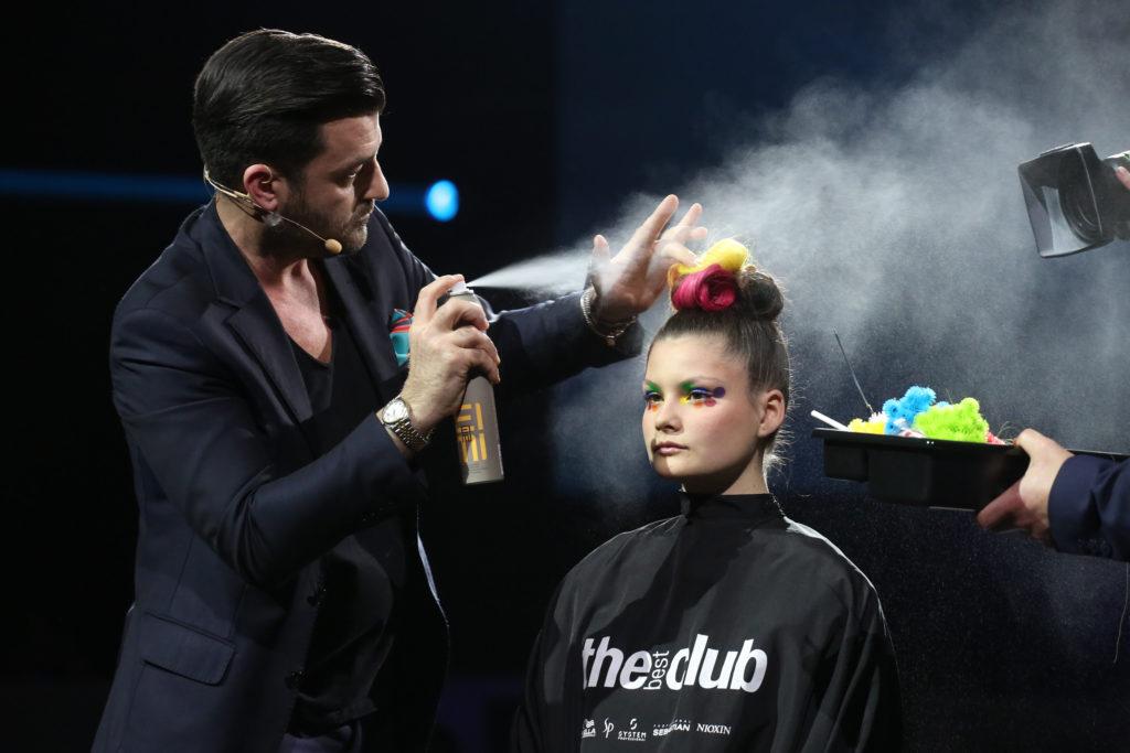 Hairstyle Toni Pellegrino