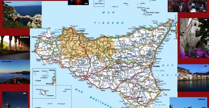 Carte Turistiche della Città Metropolitana di Palermo