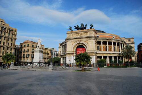 Manifestazione antifascista a Palermo