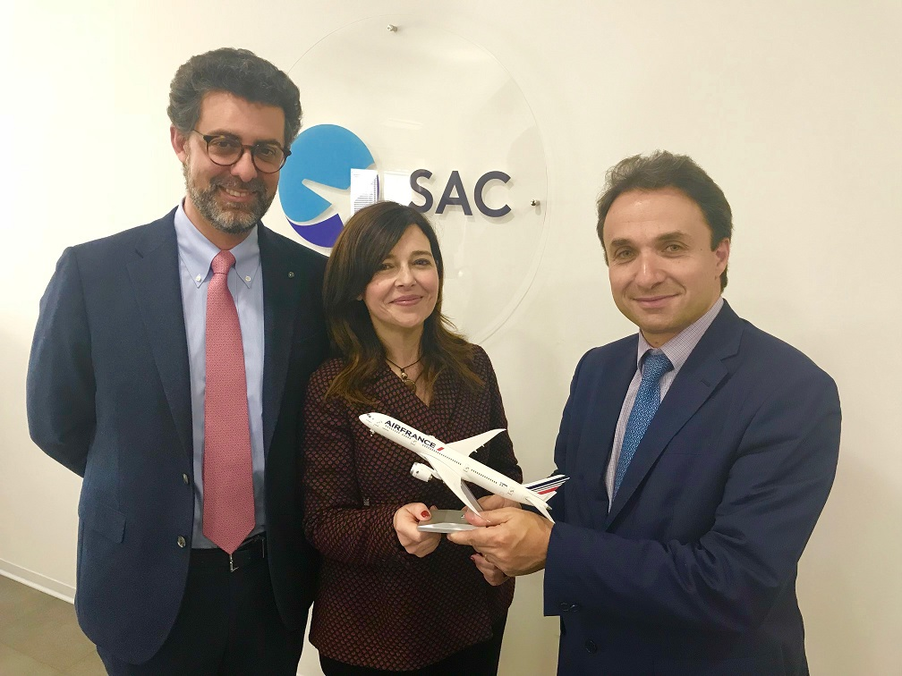 Air France riapre i voli da Catania