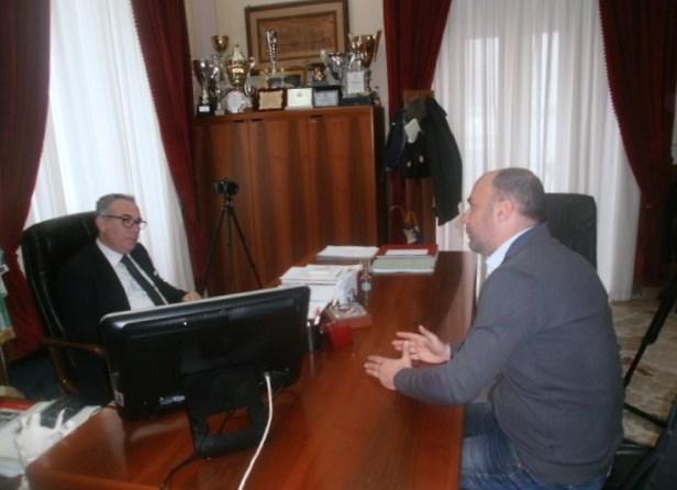 Sindaco Partanna intervistato