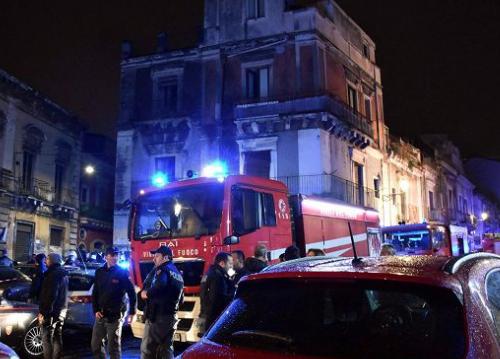 Esplosione Catania