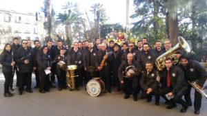 La banda di Gratteri a Caltanissetta per il Giovedì santo