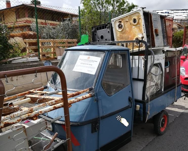 trasporto illecito di rifiuti elettrici