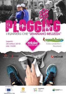 Plogging Retake Palermo, i runners che seminano bellezza