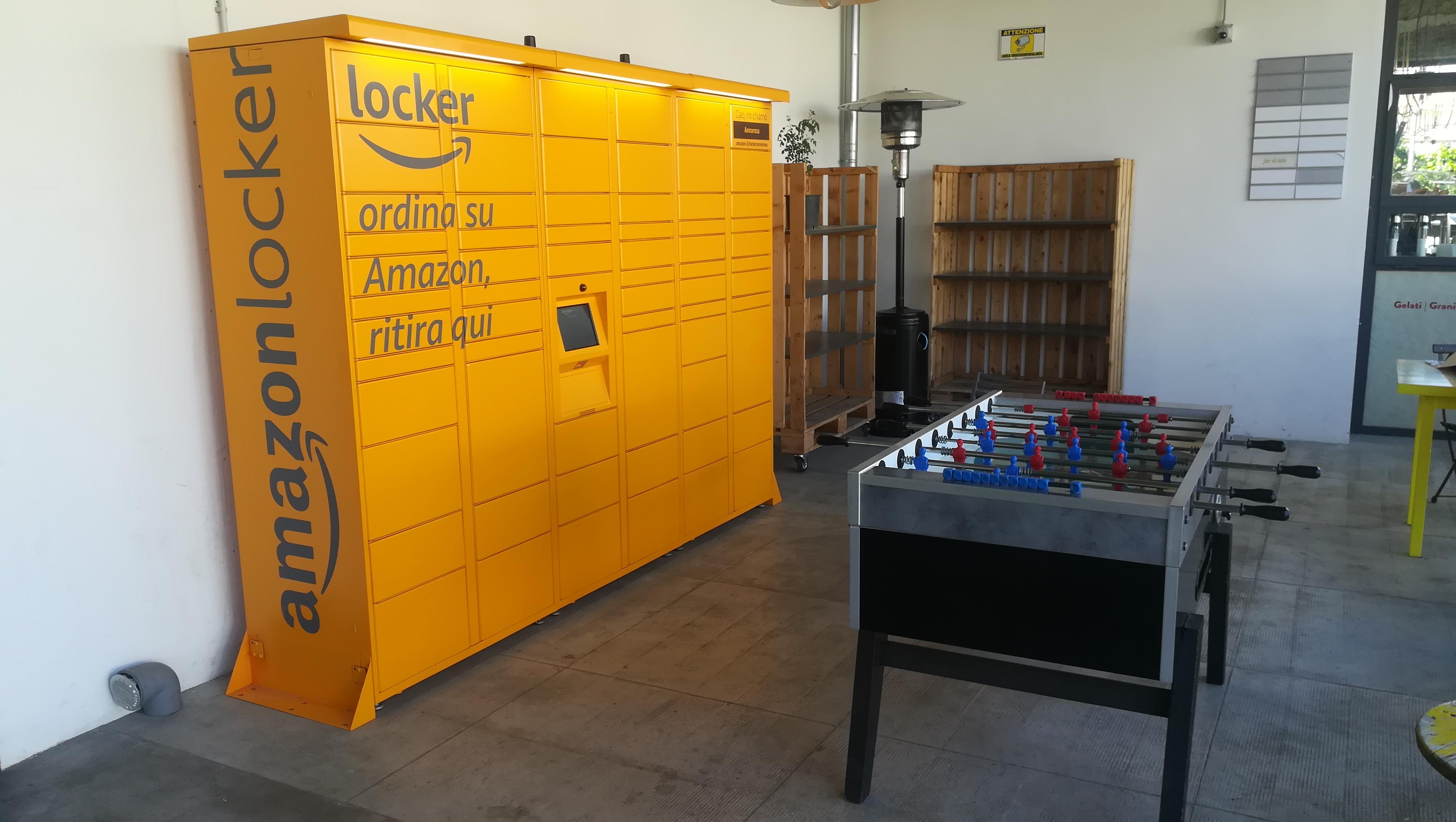 amazon locker SanLorenzo Mercato