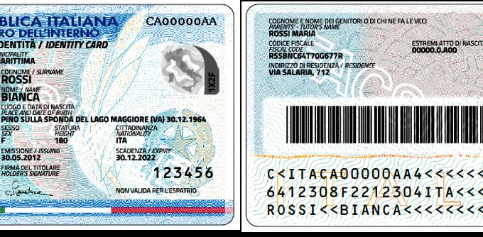 Arriva la carta di identità elettronica