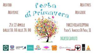 Festa di primavera al parco: la prima edizione a Villa Filippina