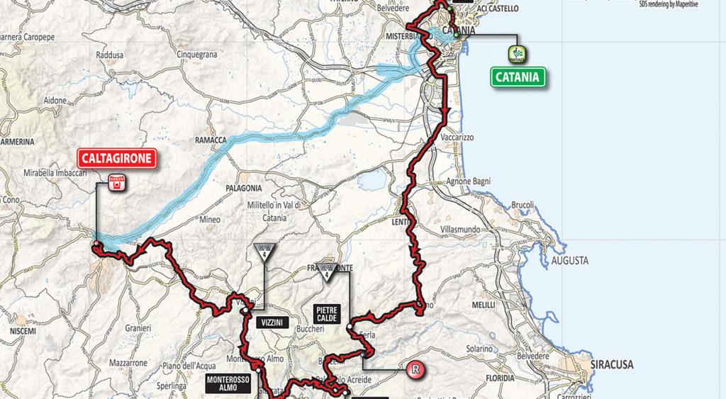 Giro d'Italia arriva in Sicilia