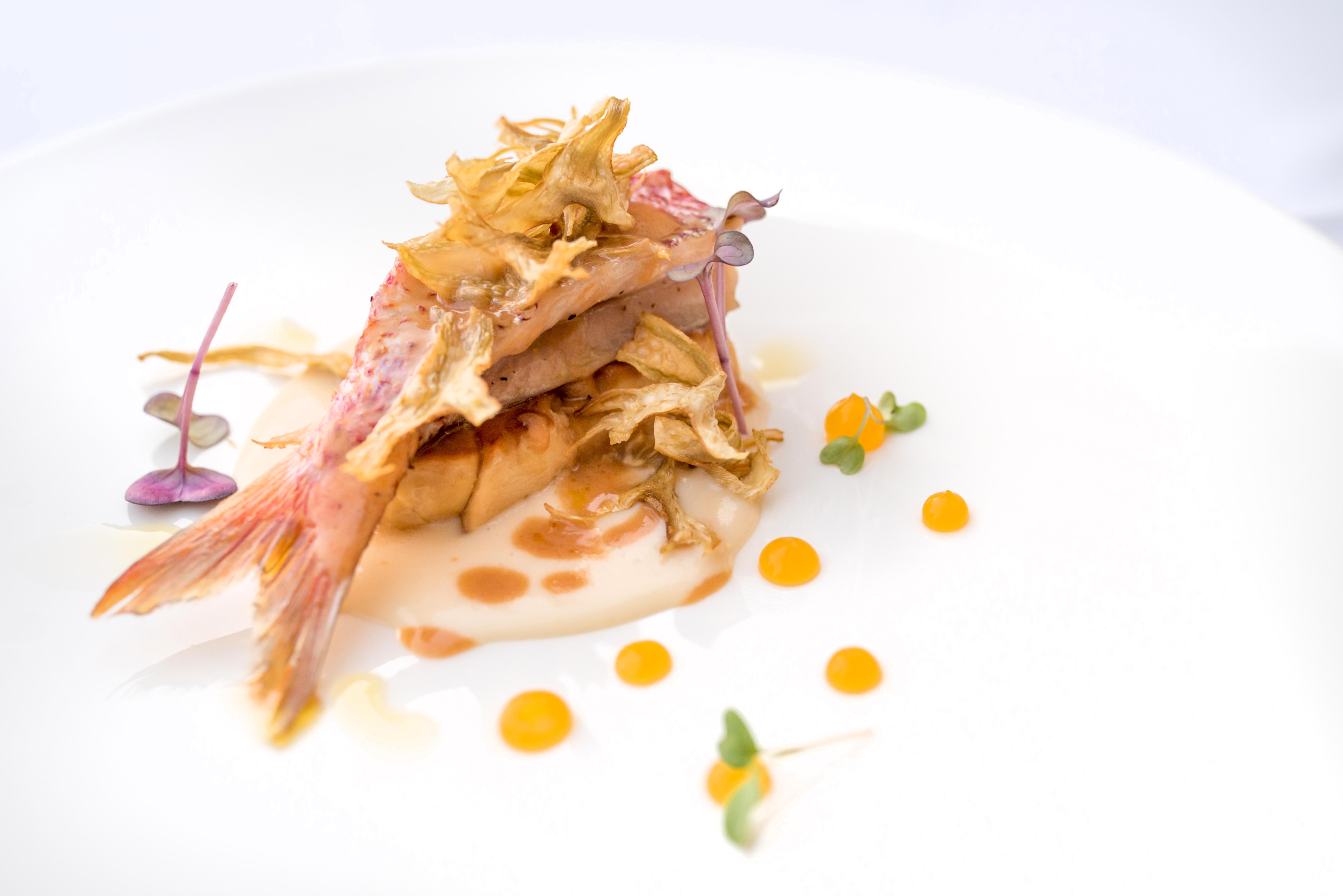 Triglia foie gras Roberto Toro