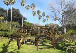 Terra io sono, installazione naturale all'Orto botanico di Palermo