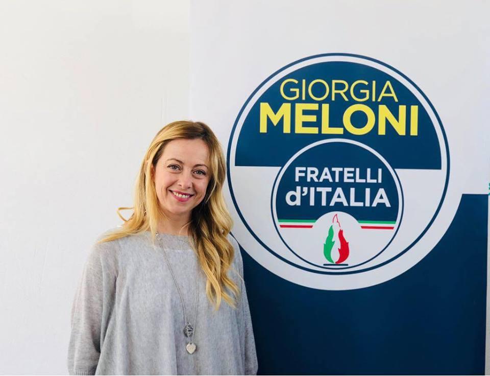 giorgia meloni sbarca in sicilia