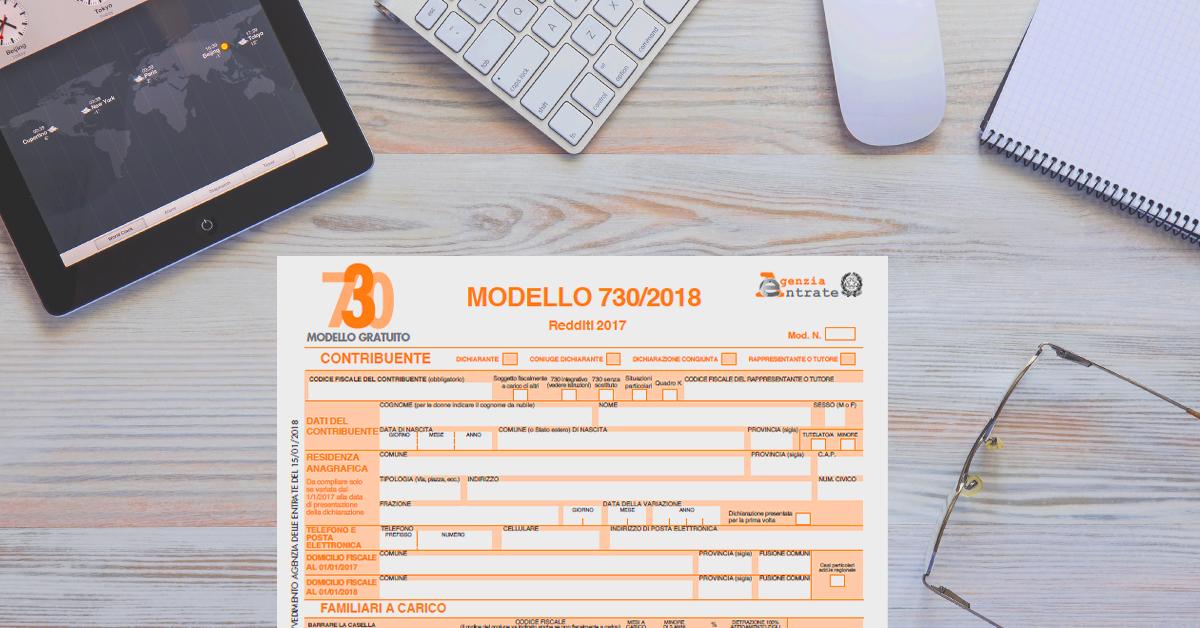 Modello 730/2018 precompilato