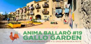 Inaugurazione Gallo Garden domenica 27 maggio: Anima Ballarò #19
