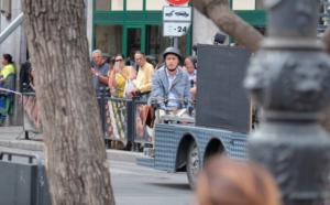 Si gira il film con Pif e Piazza Politeama va in tilt: traffico e curiosi