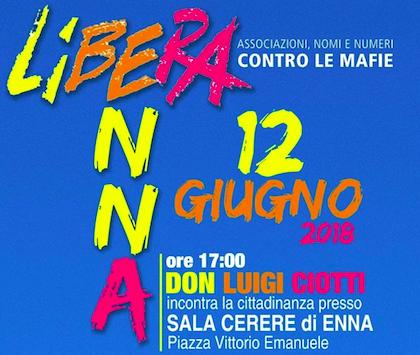 Don Luigi Ciotti inaugura nuovo presidio di Libera