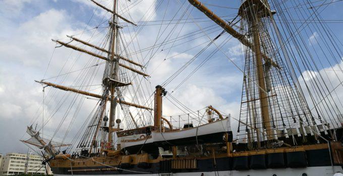 Amerigo Vespucci al porto di Palermo