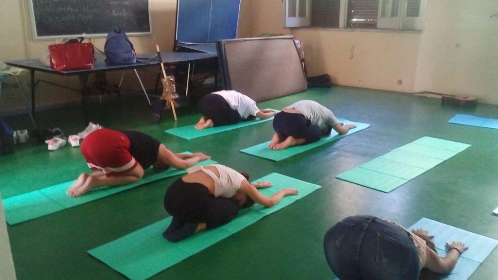 Yoga a scuola