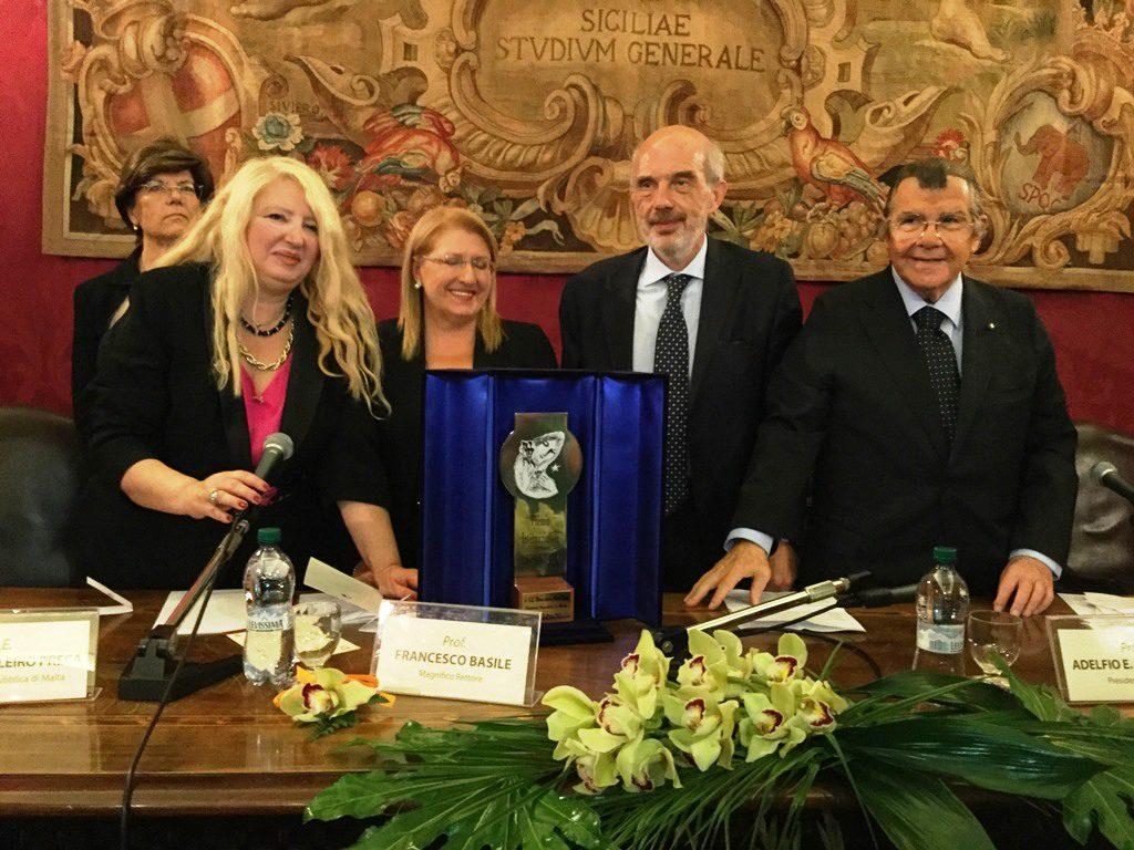 Assegnato alla Presidente di Malta il Premio internazionale