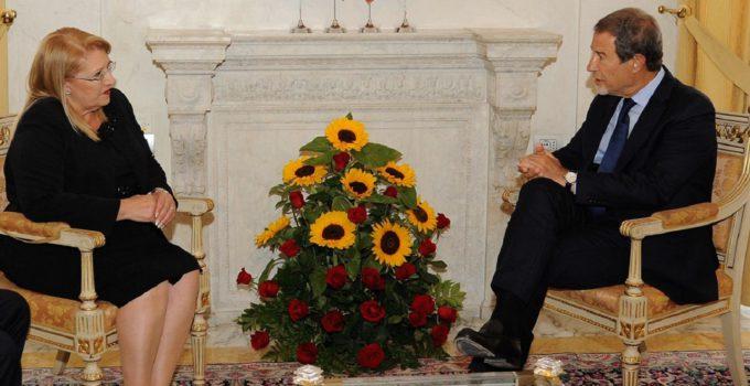 Presidente Malta in visita