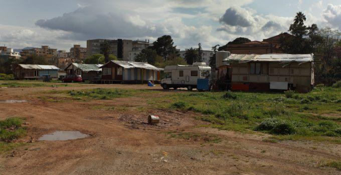 Campo nomadi di Palermo