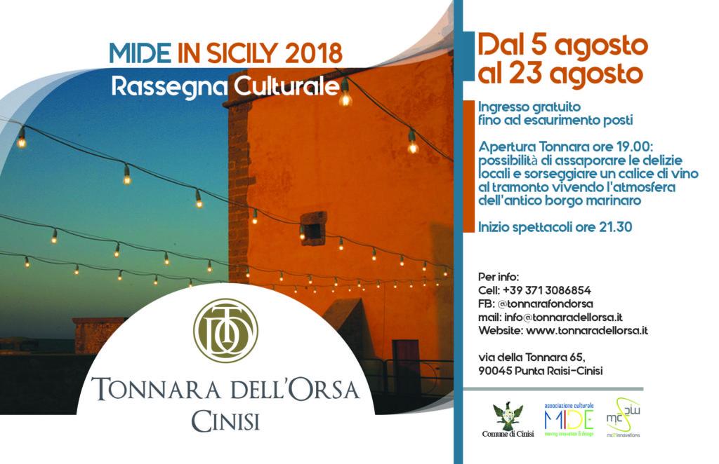 MIDE in Sicily 2018