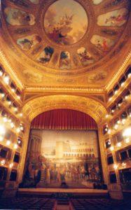 Teatro Massimo, partnership con Volotea per il sipario di Giuseppe Sciuti