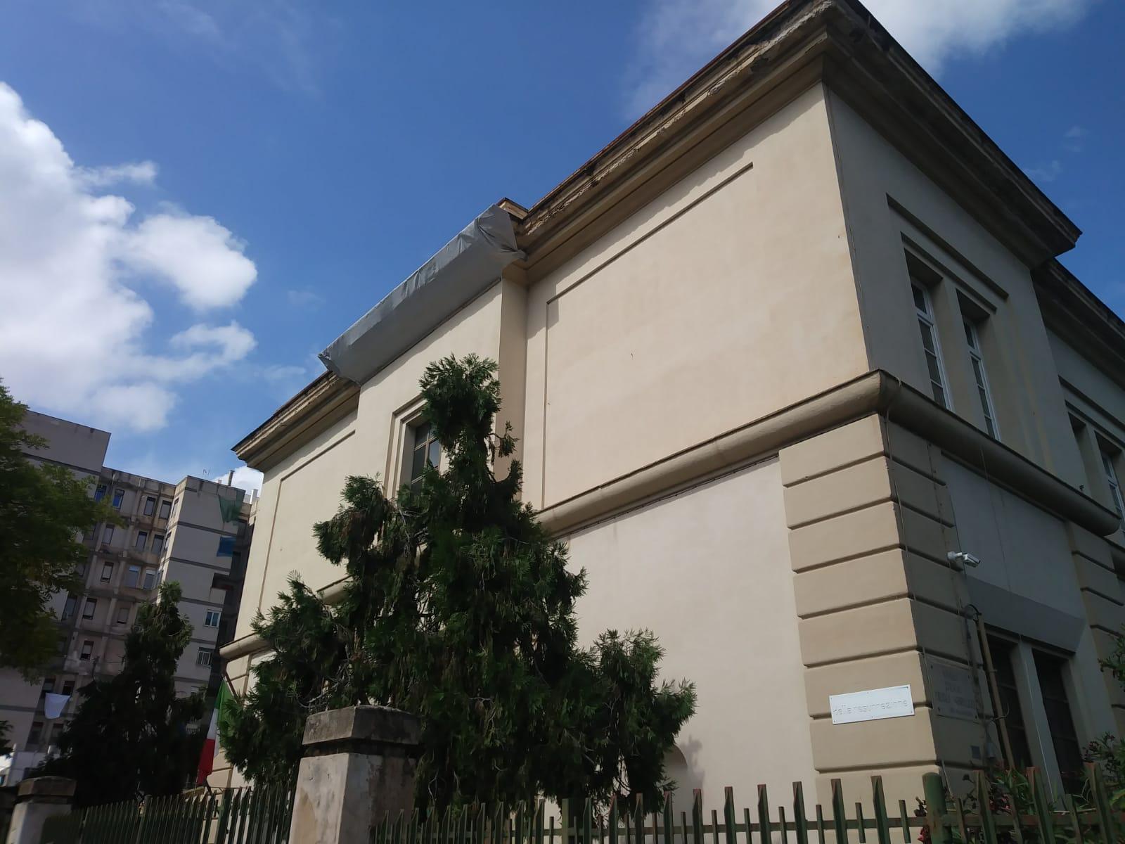 Crollo scuola a Palermo