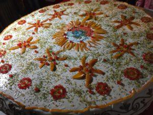 Cassata di 150 chili a Castroreale, pasticceria artistica siciliana