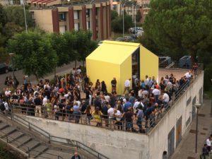 Test Box: a Catania la prima casa al mondo in cartone ondulato