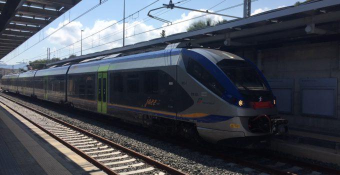 Treno per l'aeroporto