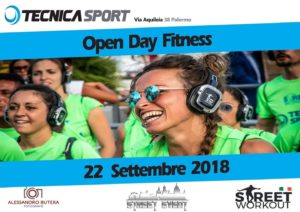 Open Day Fitness 22-09 in vista Street Workout Palermo di domenica 30