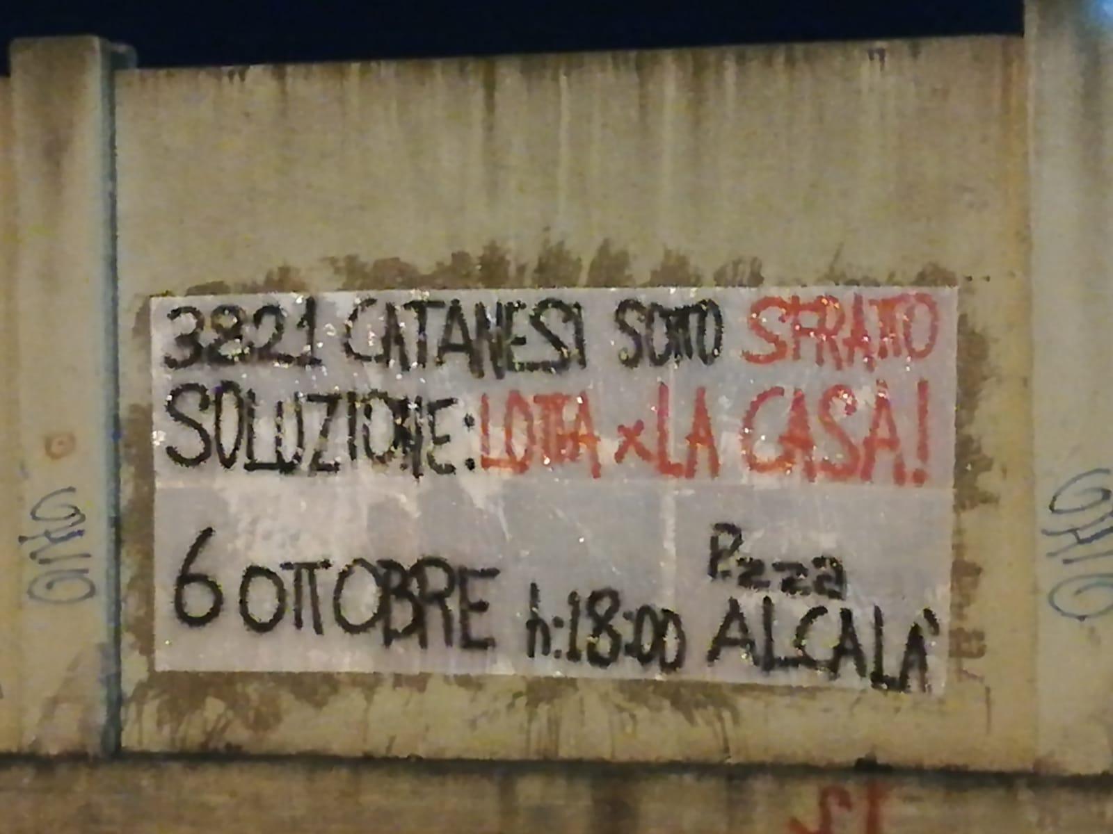 Emergenza casa Catania