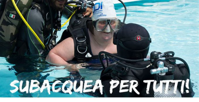 subacquea e disabilità catania