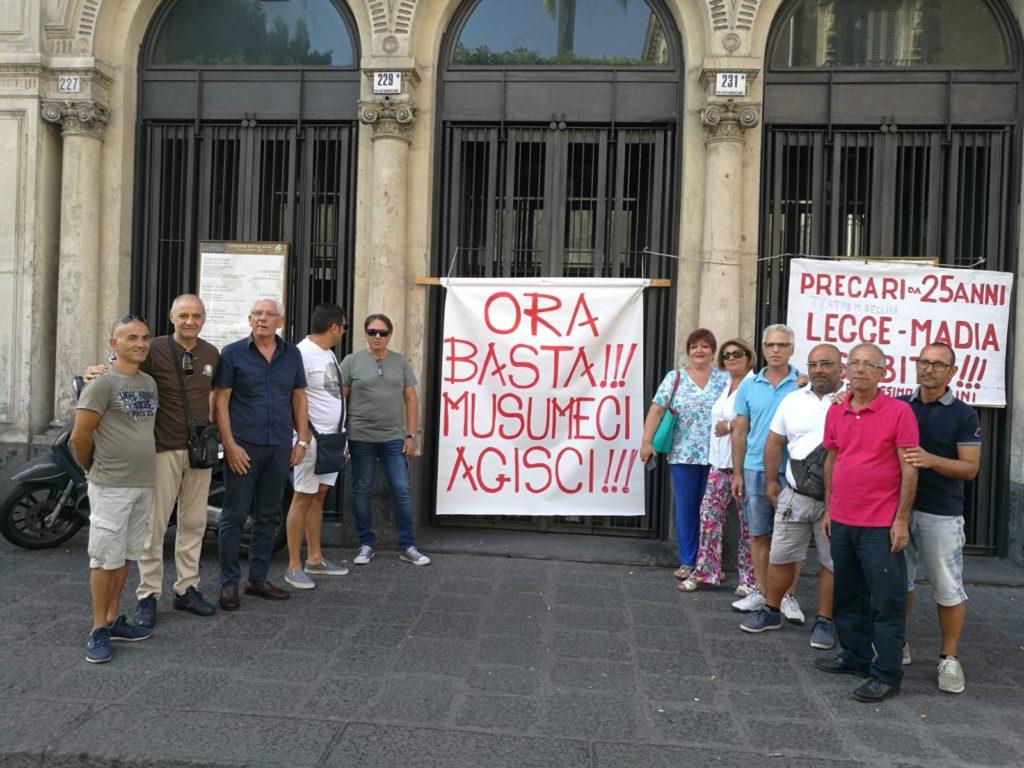 Precari Teatro Bellini Catania