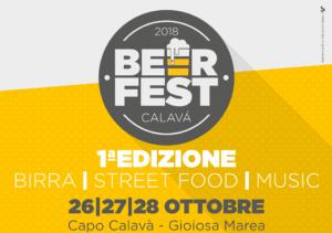 Beer Fest Calavà, prima edizione dal 26 al 28 ottobre