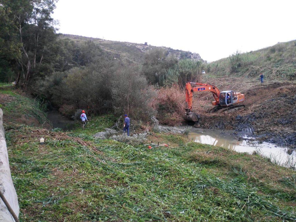 Pulizia fiumi in Sicilia