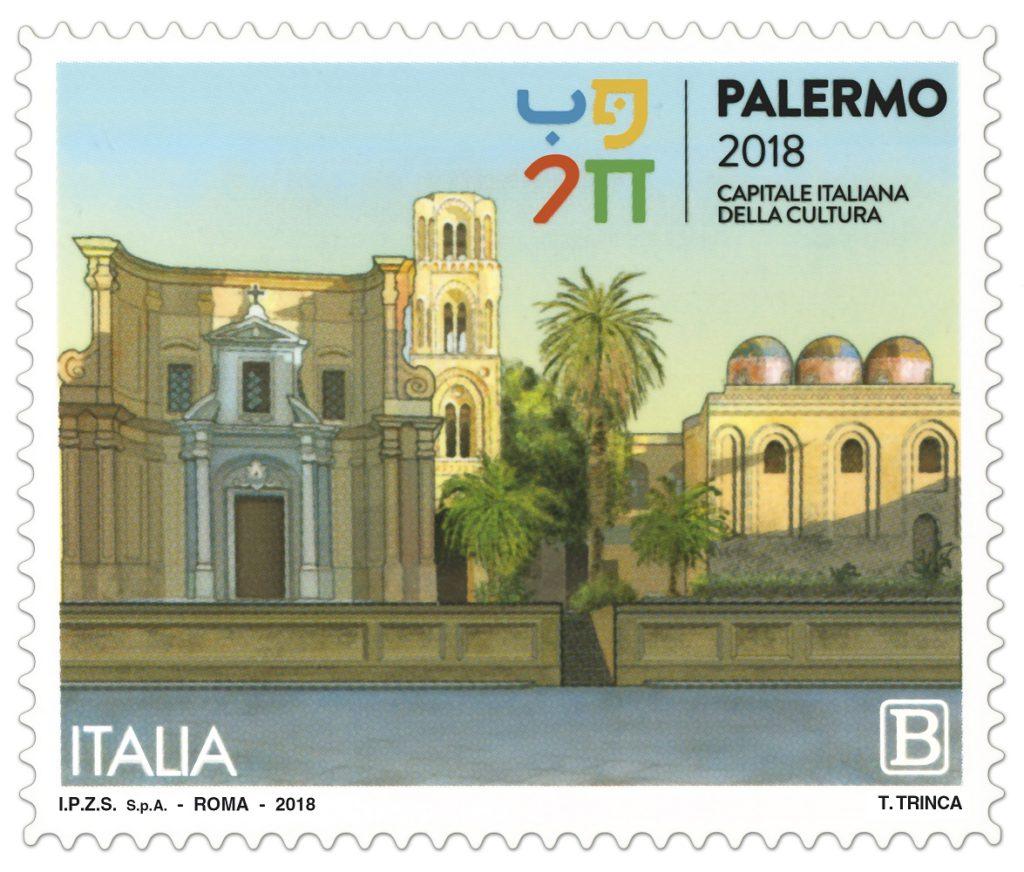 Francobollo commemorativo per Palermo