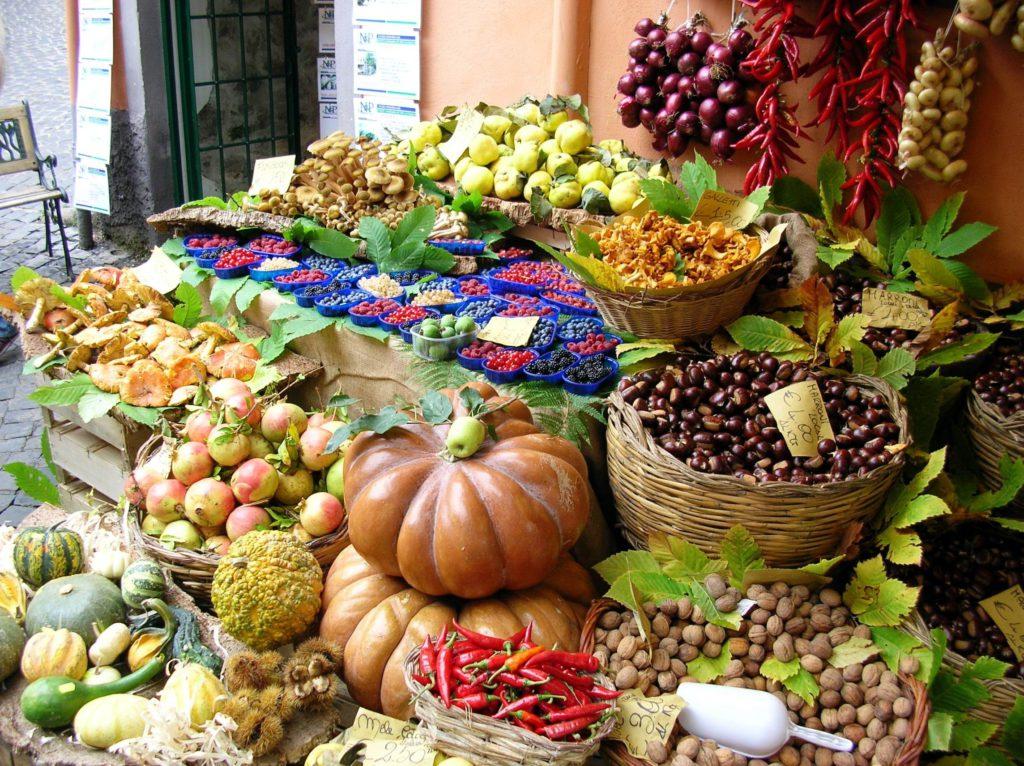 Vendita dei prodotti agricoli
