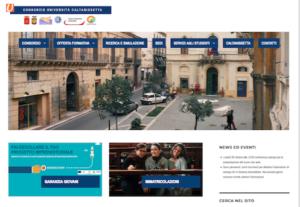 Consorzio universitario Caltanissetta: nuovo sito e canali social