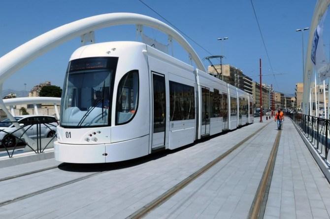 Linee del tram per Bonagia