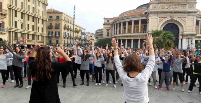 Flash mob a Palermo