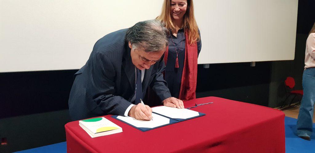 Nobel Pérez Esquivel a Palermo