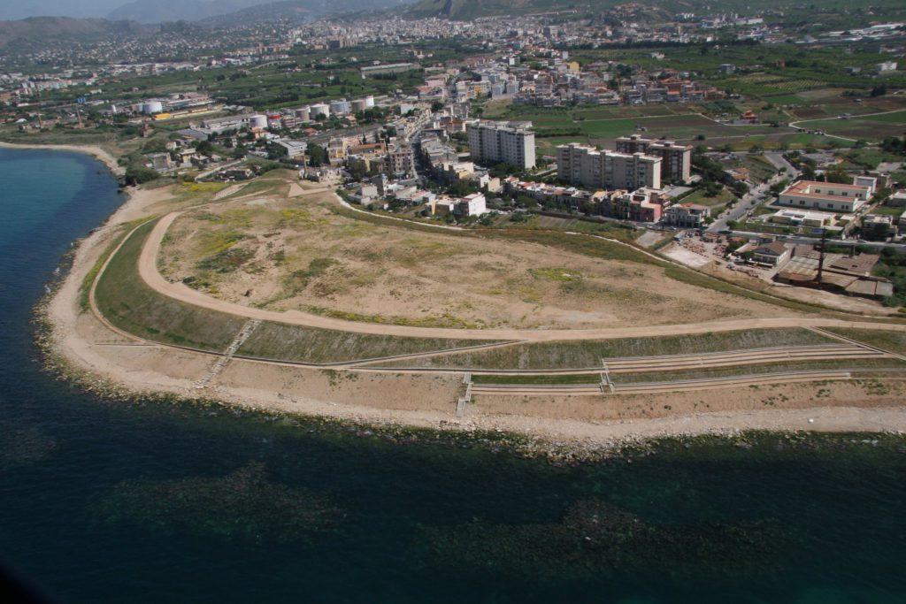 Disinquinamento della costa