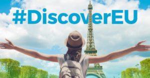 Riparte DiscoverEU, i 18enni viaggiano gratis in tutta Europa