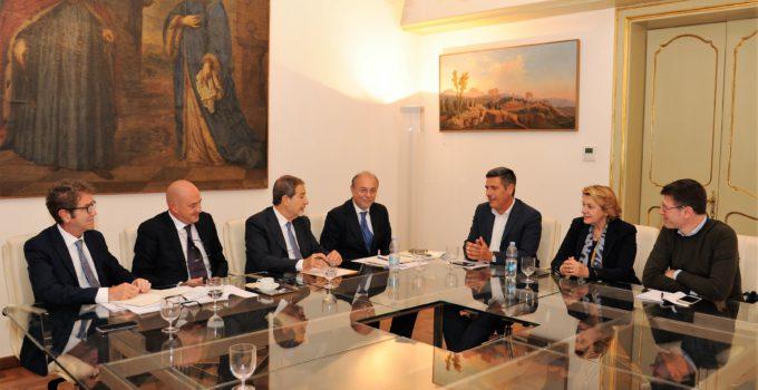 Musumeci incontra europarlamentari