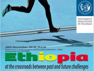 Palermo incontra l'Etiopia il 28-11 per parlare di sviluppo e scambi